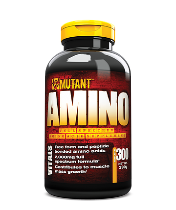 Mutant Amino PVL 300 tabs, фото 2