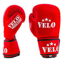 Перчатки боксерские Velo Ahsan Star (12 унций, красный)