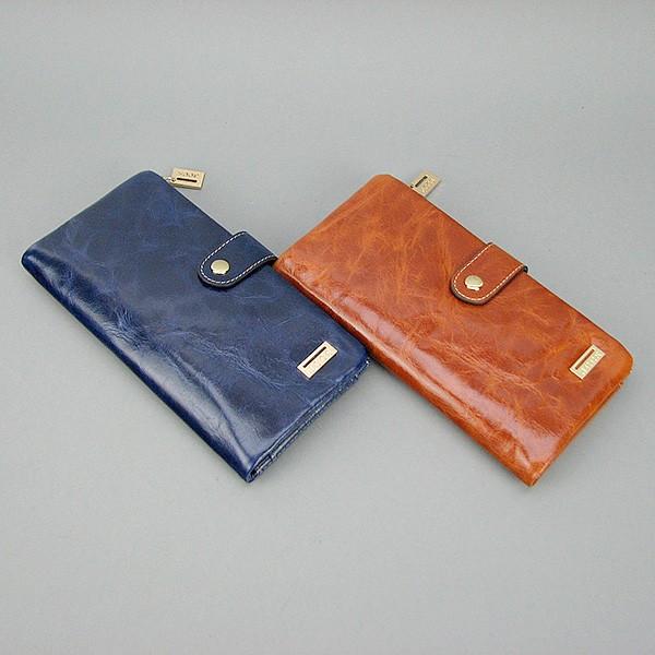 0d1c3afe74c6 Кошелек JCCS женский кожаный коричневый/синий - Интернет магазин сумок  SUMKOFF - женские и мужские