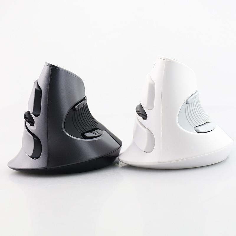 Оригинальная беспроводная Bluetooth вертикальная мышь Delux M618. Эргономичная!