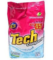 Tech Compact Стиральный порошок 2.25 кг Lovely Fresh