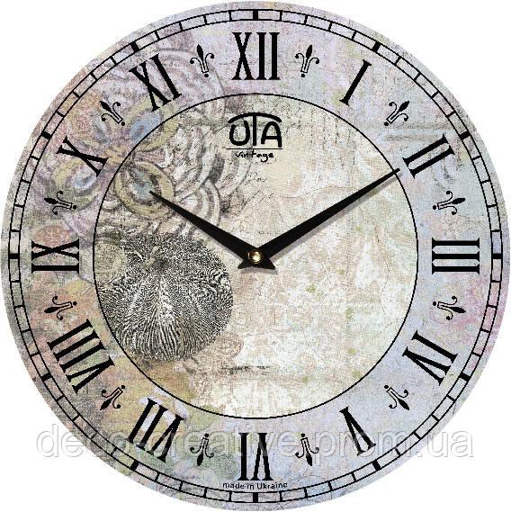 """Годинник настінний ЮТА """"Vintage"""" 330Х330Х30мм"""