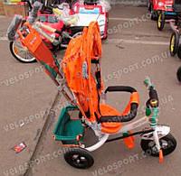 Детский трехколесный велосипед Azimut Trike BC-17B AIR (с надувными колесами) цвет белый