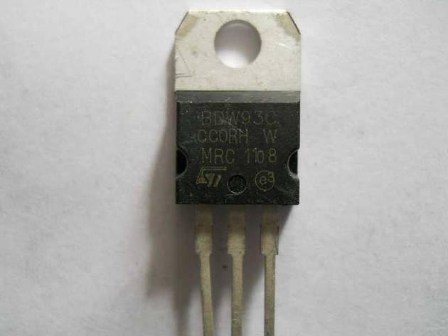 Транзистор BDW93C К-220 , фото 2