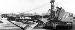 Запчастини до гусеничних екскаваторів Akerman 751
