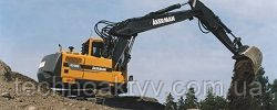 Запчасти к гусеничным экскаваторам Akerman EC130C