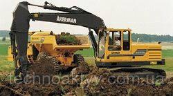 Запчастини до гусеничних екскаваторів Akerman EC230
