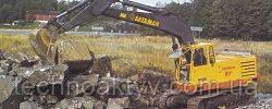 Запчасти к гусеничным экскаваторам Akerman H9B