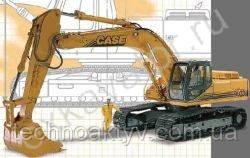 Запчасти к гусеничным экскаваторам Case 9033