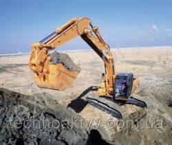 Запчасти к гусеничным экскаваторам Case CX180
