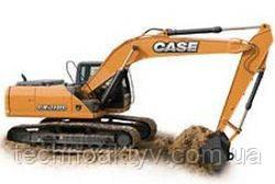 Запчасти к гусеничным экскаваторам Case CX210C