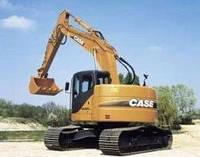 Запчасти к гусеничным экскаваторам Case CX225