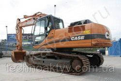Запчасти к гусеничным экскаваторам Case CX230