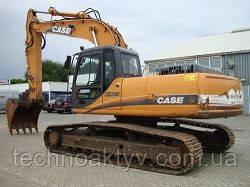 Запчасти к гусеничным экскаваторам Case CX240 LC