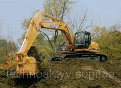 Запчасти к гусеничным экскаваторам Case CX240B