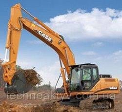 Запчасти к гусеничным экскаваторам Case CX250C