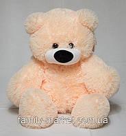 """Мягкая плюшевая игрушка """"Медведь Бублик"""" 110 см Персиковый"""