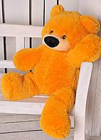 """Мягкая плюшевая игрушка """"Медведь Бублик"""" 110 см Желтый"""