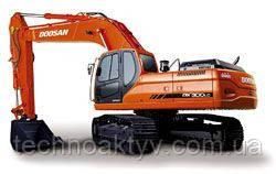 Запчасти к гусеничным экскаваторам Doosan / Daewoo DX300 LC V