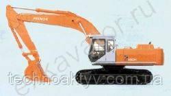 Запчасти к гусеничным экскаваторам Hitachi EX 450LCH-5