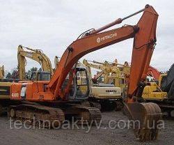 Запчасти к гусеничным экскаваторам Hitachi EX200 LC-2