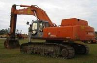 Запчасти к гусеничным экскаваторам Hitachi EX550 LC