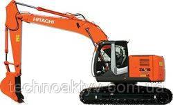 Запчасти к гусеничным экскаваторам Hitachi ZX225USRLC-3