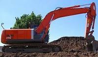 Запчасти к гусеничным экскаваторам Hitachi ZX250 LC