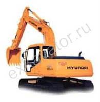 Запчасти к гусеничным экскаваторам Hyundai R 130LCD
