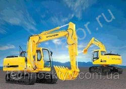 Запчасти к гусеничным экскаваторам Hyundai R 140LCM-7