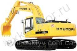 Запчасти к гусеничным экскаваторам Hyundai R 250LC-7