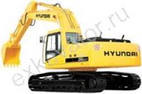 Гусеничные экскаваторы Hyundai R 250NLC-7