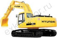 Запчасти к гусеничным экскаваторам Hyundai R 250NLC-7