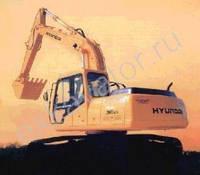 Запчасти к гусеничным экскаваторам Hyundai R 360LC-3