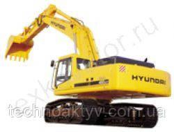 Запчасти к гусеничным экскаваторам Hyundai R 500LC-7