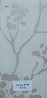 Рулонные шторы Одесса Ткань Рябина Серебро
