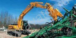 Запчасти к гусеничным экскаваторам JCB JS 330XD
