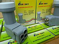 Спутниковый конвертер(головка) 4 выхода Eurosky