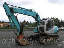 Запчасти к гусеничным экскаваторам Kobelco SK120 ACERA SV