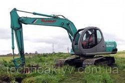 Запчасти к гусеничным экскаваторам Kobelco SK120 V