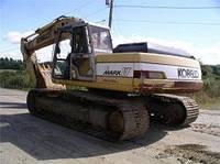 Запчасти к гусеничным экскаваторам Kobelco SK220 LC I
