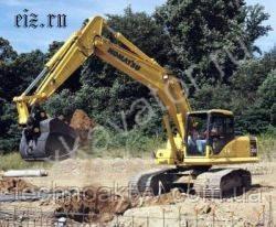 Запчасти к гусеничным экскаваторам Komatsu PC200LC-7