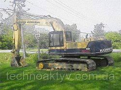 Запчасти к гусеничным экскаваторам Komatsu PC220 LC