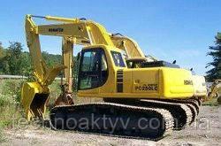 Запчасти к гусеничным экскаваторам Komatsu PC250 LC-6L