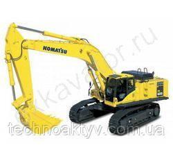 Запчасти к гусеничным экскаваторам Komatsu PC600LC-8R