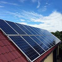 """Сетевая солнечная электростанция 5 кВт, 220 В под """"зеленый тариф"""""""