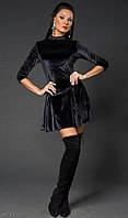 Платье Идеальная талия Черное
