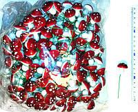 Стикер Грибы 3 см 250 шт
