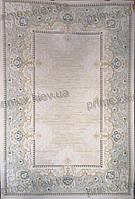 Акриловый рельефный ковер Валери (Турция) Восток, цвет бежево-серый