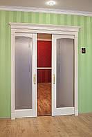 Установка пенальных  дверей.